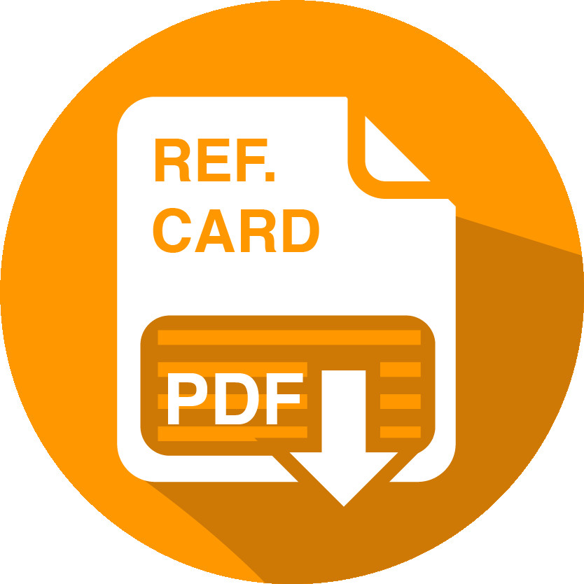 Reference card icon