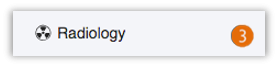 Image of radiology notification