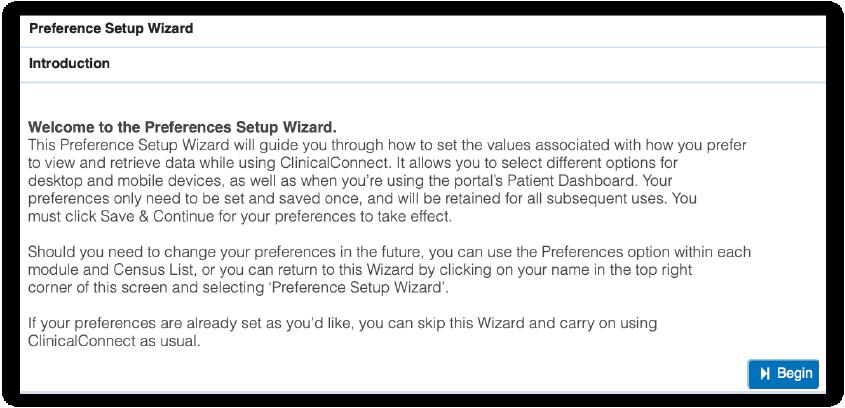 Image of intro to setup wizard