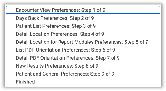 Image of Go To Step options