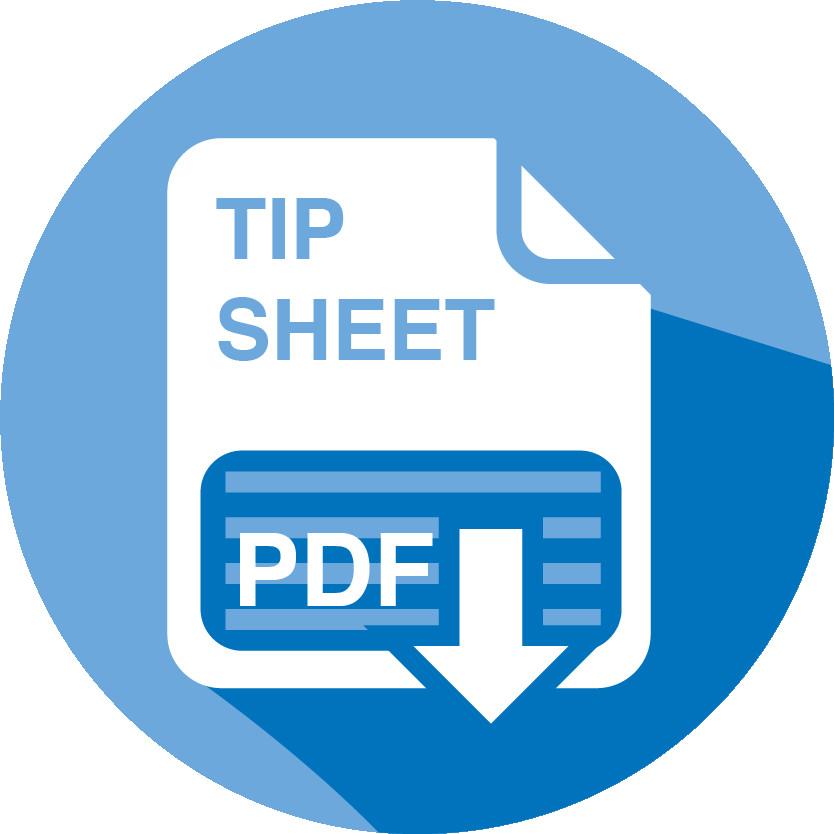 Tip Sheet Icon